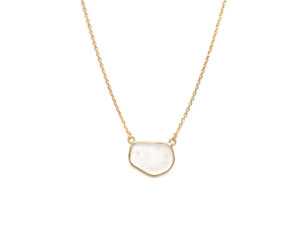 Sliced Diamond Necklace - Necklace - 5th and Envy