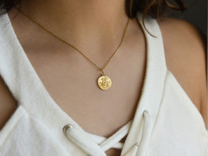 PEGASUS COIN NECKLACE 2