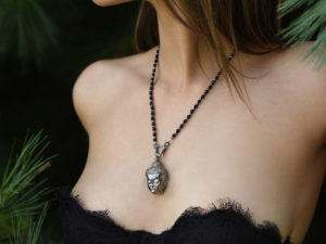 DIAMOND BUDDHA NECKLACE 2