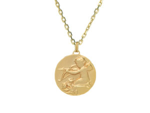 Eros Coin Necklace - Necklace - 5th and Envy