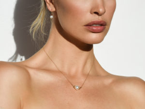 FLOATING PEARL NECKLACE 2