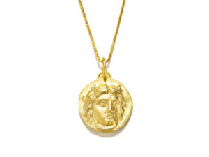 Medusa Coin Necklace - Necklace - 5th and Envy